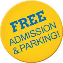 Free Admission and Free Parking
