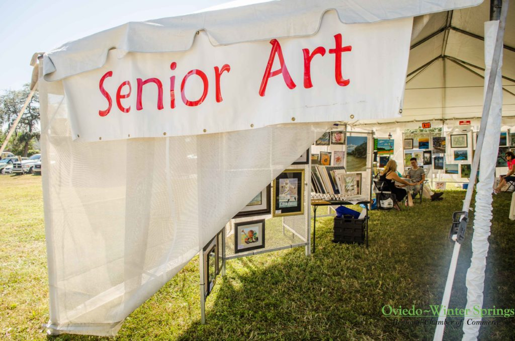 & Senior Art Tent u2013 Winter Springs ARToberFEST